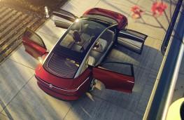 Volkswagen ID Vizzion overhead