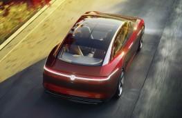 Volkswagen ID Vizzion rear overhead