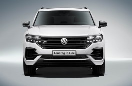 Volkswagen Touareg R-Line 2018 head-on