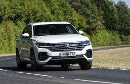 Volkswagen Toureg 2018 front action