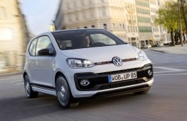 Volkswagen up! GTI prototype front action