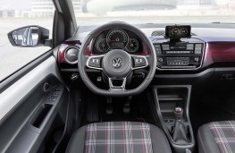 Volkswagen up! GTI prototype interior