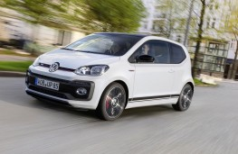 Volkswagen up! GTI prototype side action