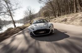Aston Martin DBS Superleggera Volante, 2019, nose