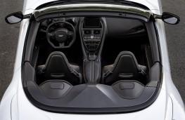Aston Martin DBS Superleggera Volante, 2019, interior, overhead