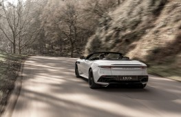 Aston Martin DBS Superleggera Volante, 2019, rear, action