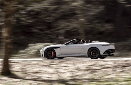Aston Martin DBS Superleggera Volante, 2019, side, action