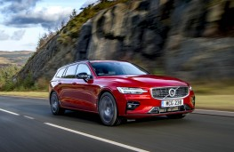 Volvo V60 R-Design, front action