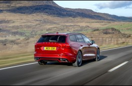 Volvo V60 R-Design, rear action