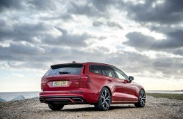 Volvo V60 R-Design, rear static