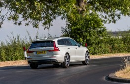 Volvo V60, rear action 2
