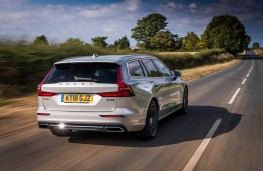 Volvo V60, rear action
