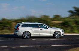 Volvo V60, side action