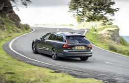 Volvo V90, rear action