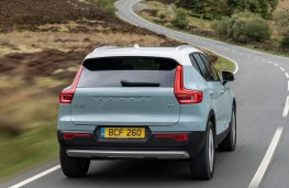 Volvo XC40 rear action