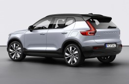 Volvo XC40 Recharge rear threequarters