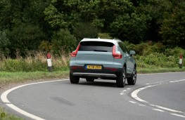 Volvo XC40, action rear