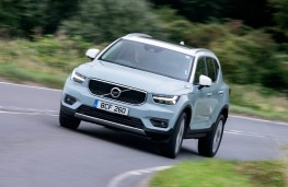 Volvo XC40, front action