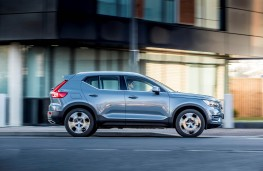 Volvo XC40, side action