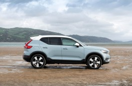 Volvo XC40, side static