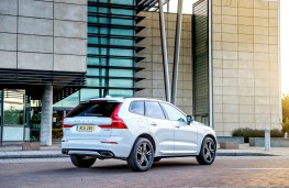 Volvo XC60, rear static