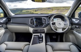 Volvo XC90, dashboard