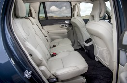 Volvo XC90, rear seats