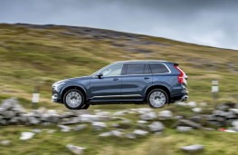Volvo XC90, side action