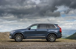 Volvo XC90, side static