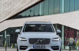 Volvo XC90, front