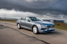 Volvo S90, front action