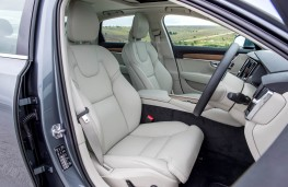 Volvo S90, front seats