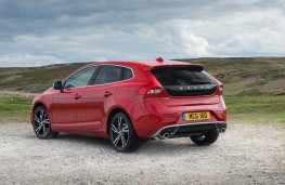 Volvo V40, rear static