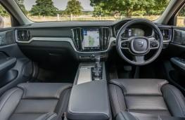 Volvo V60, dashboard