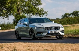 Volvo V60, front action