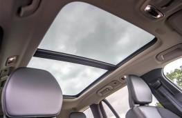 Volvo V60, sunroof