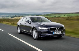 Volvo V90, front action