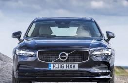 Volvo V90, full front upright