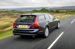 Volvo V90, rear action