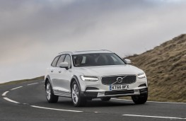Volvo V90 Cross Country, front action