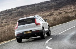 Volvo XC40, rear action