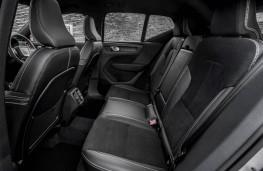 Volvo XC40, rear seats