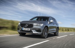 Volvo XC60, front action 2