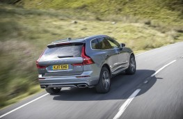 Volvo XC60, rear action