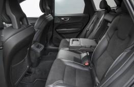 Volvo XC60, rear seats