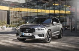 Volvo XC60, static town