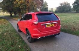 Volvo XC60, rear