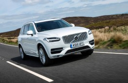 Volvo XC90, front action