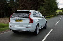 Volvo XC90, rear action