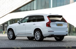 Volvo XC90, rear static